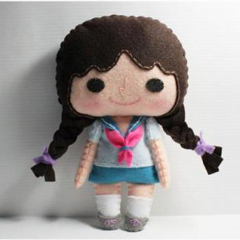 Nana girl - PDF Doll Pattern