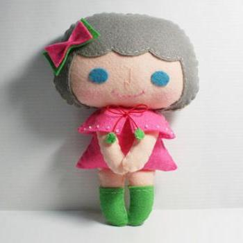 Ceci girl - PDF Doll Pattern